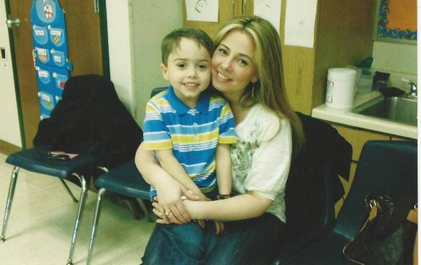 Mothers Day Brunch at P.S.4  Joseph and his Mom, Julianne Riceputo DeNicola