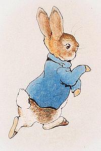 An-Original-Illustration-Of-Peter-Rabbit-From-1902-Author-Beatrix-Potter