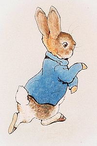 An-Original-Illustration-Of-Peter-Rabbit-From-1902-Author-Beatrix-Potter